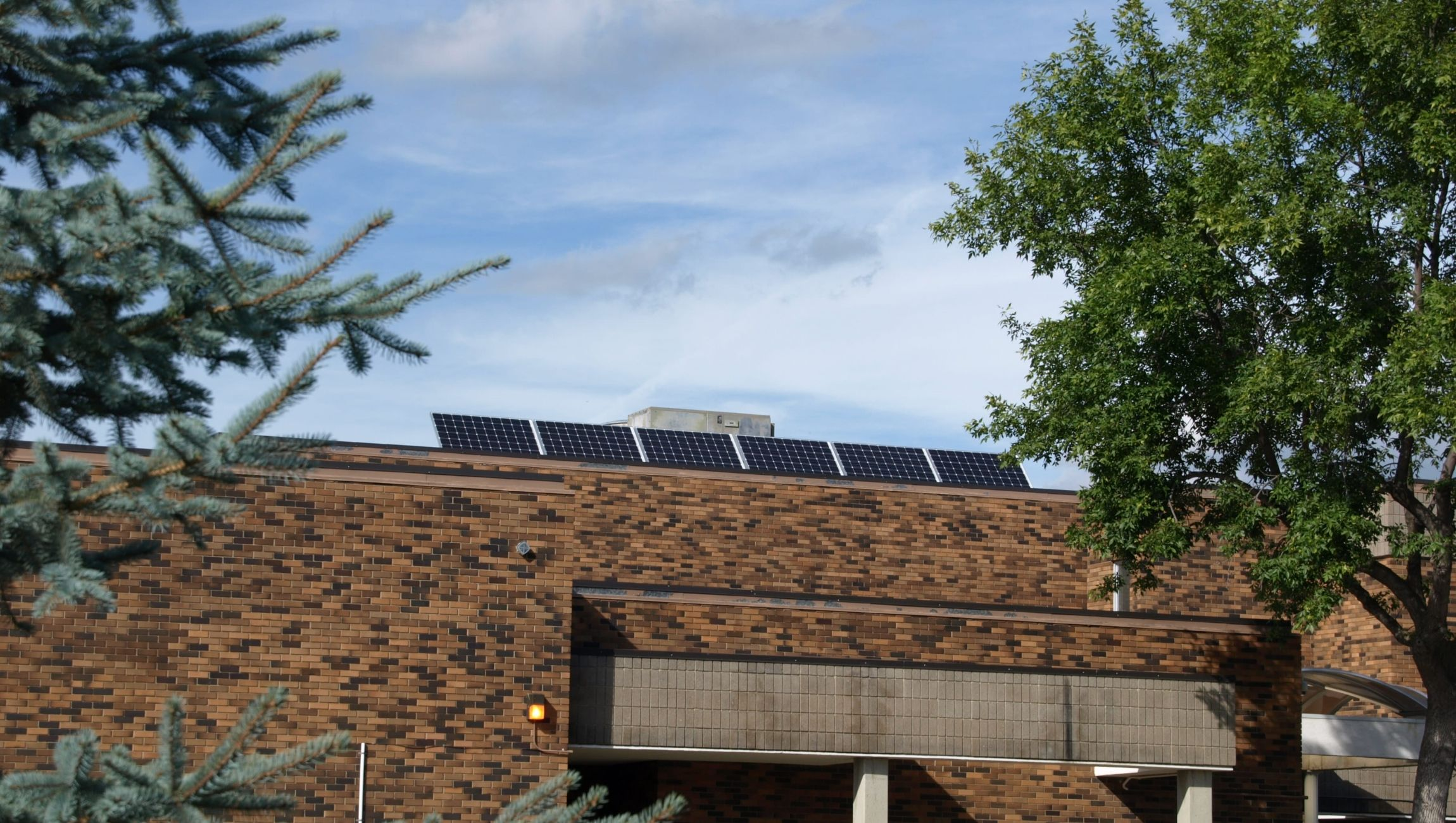 Solar supported net-zero class in Edmonton