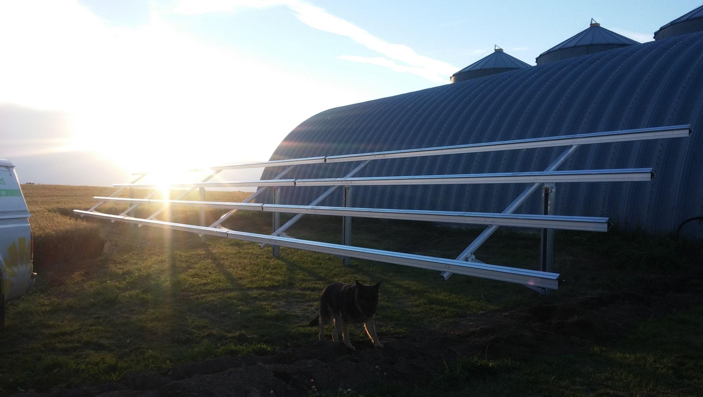 Schletter solar racking