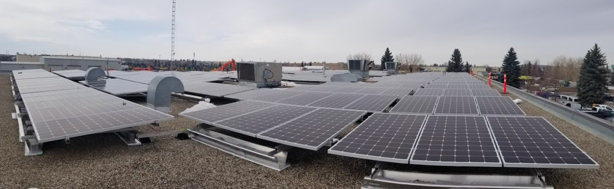 Tribal Chiefs Ventures – 109kW Grid-tied Solar in Edmonton