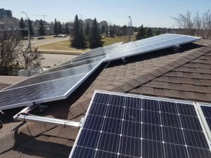 Solar Power System in Edmonton, AB, For Martin