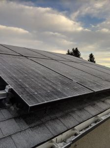 Residential roof-top solar PV system | Edmonton | Alberta