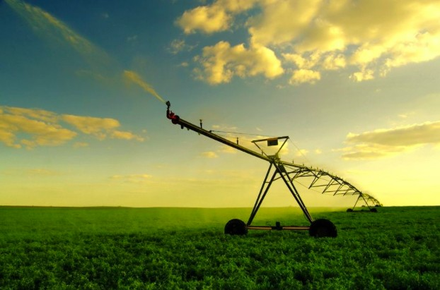 Solar Center Pivot Irrigation