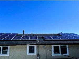 Residential roof-top solar system for Greg | Edmonton | Alberta