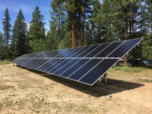 Municipal solar project | Wycliffe Exhibition Grounds | the Regional District of East Kootenay BC
